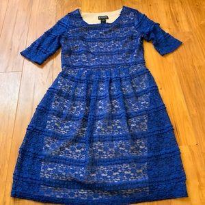 Beautiful Lace Tiered Dress